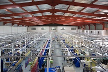 Industrial size textile factory in AfricaAusBN